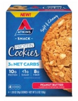 Atkins Peanut Butter Protein Snack Cookies