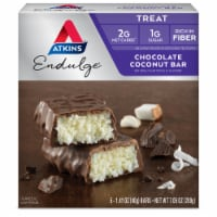 Atkins Endulge Chocolate Coconut Treat Bar 5 Count