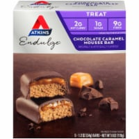 Atkins Endulge Chocolate Caramel Mousse Treat Bar 5 Count
