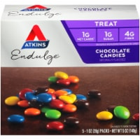 Atkins Endulge Chocolate Candies 5 Count