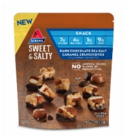 Atkins Sweet & Salty Dark Chocolate Sea Salt Caramel Crunch Bites