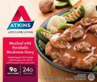 Atkins Meatloaf With Portobello Mushroom Gravy - 9 oz