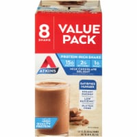 Atkins Milk Chocolate Delight Protein-Rich Shake Value Pack