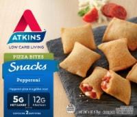 Atkins Snacks Pepperoni Pizza Bites Frozen Meal