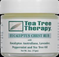 Tea Tree Therapy Eucalyptus Chest Rub - 2 oz