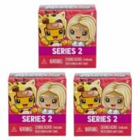 My Mini MixieQ's Mystery Blind Box 3-Pack Series 2 Mixie Q Set Figure Bundle Mattel - 1 unit
