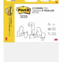 Post-it® Super Sticky Mini Easel Pad - 20 Sheets - White - 15 x 18 in