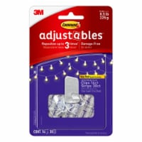 Command Adjustables Repositionable 1/2-Pound Hooks