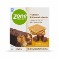 ZonePerfect Fudge Graham Bars Protein Bars 5 Count