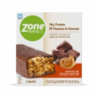ZonePerfect Chocolate Peanut Butter Bars Protein Bars 5 Count