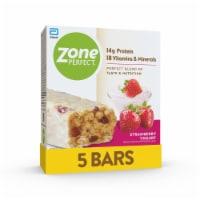 ZonePerfect Strawberry Yogurt Bars Protein Bars 5 Count