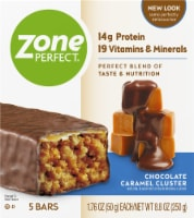ZonePerfect Chocolate Caramel Cluster Nutrition Bars