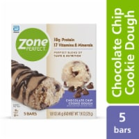 ZonePerfect Chocolate Chip Cookie Dough Bars Protein Bars