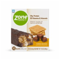 ZonePerfect Fudge Graham Nutrition Bars 10 Count