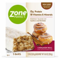 ZonePerfect Cinnamon Roll Nutrition Bars - 5 ct / 1.76 oz