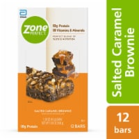 ZonePerfect Salted Caramel Brownie Nutrition Bars - 12 ct / 1.58 oz