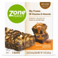 ZonePerfect 1.58 oz Salted Caramel Brownie Nutrition Bars