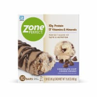 ZonePerfect Chocolate Chip Cookie Dough Nutrition Bars