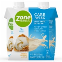 ZonePerfect Carb Wise Vanilla Ice Cream Protein Shakes