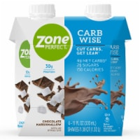 ZonePerfect Carb Wise Chocolate Marshmallow Protein Shakes