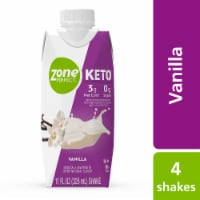 ZonePerfect Keto Vanilla Ready-to-Drink Shakes