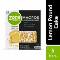 ZonePerfect® Macros Lemon Pound Cake Protein Bars - 5 ct / 1.76 oz