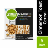 ZonePerfect Macros Cinnamon Toast Cereal Protein Bar
