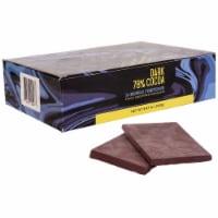 Keto Chocolate Bars by Edge, Snack Size, | 78% Dark Chocolate | Vegan, Stevia Sweetened - 24 Bars