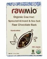 Windy City Organics Rawmio Organic Gourmet Raw Sprouted Almond & Sea Salt Chocolate Bark