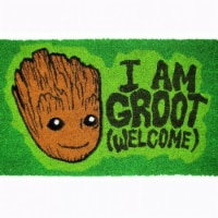 Guardians of the Galaxy 808113 17 x 29 in. I Am Groot Doormat with Non-Skid Back - 1