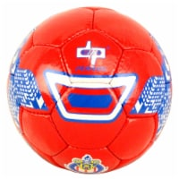 Shelter 9604 Perrini Indoor Outdoor Soccer Ball, Red - Size 5