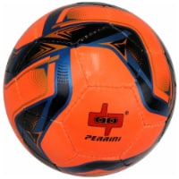 Shelter 13624 All Weather Indoor Outdoor Perrini Soccer Ball, Yellow, Black & Red - Size 5 - 1
