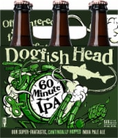 Dogfish Head 60 Minute IPA Beer 6 Bottles