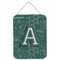 Letter A Back to School Initial Wall or Door Hanging Prints