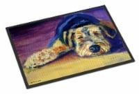 Snoozer Airedale Terrier Indoor or Outdoor Mat 24x36