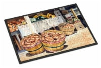 Crawfish with Spices and Corn Indoor or Outdoor Mat 18x27 - 18Hx27W