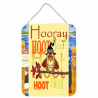 Hooray Hoot Hoot Owl Wall or Door Hanging Prints - 16HX12W
