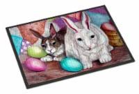 Buddy Buddies Easter Rabbit Indoor or Outdoor Mat 18x27 - 18Hx27W