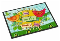 Keep on the Sunny Side Indoor or Outdoor Mat 18x27