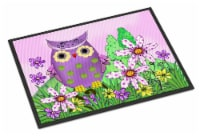 Who is Your Friend Owl Indoor or Outdoor Mat 24x36