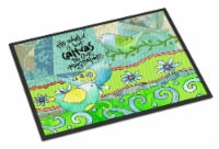 The World is but a Canvas to our Imagination Indoor or Outdoor Mat 24x36 - 24Hx36W