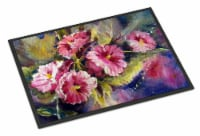 April Showers Bring Spring Flowers Indoor or Outdoor Mat 24x36 - 24Hx36W