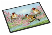 Carolines Treasures  ASA2202JMAT European Goldfinch Indoor or Outdoor Mat 24x36