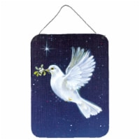 Peace Dove with the Olive Branch Wall or Door Hanging Prints - 16HX12W