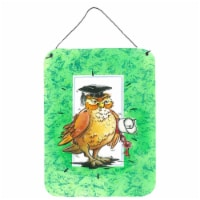 Graduation The Wise Owl Wall or Door Hanging Prints - 16HX12W