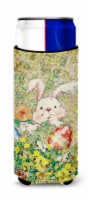 Easter Bunny and Eggs Ultra Beverage Insulators for slim cans - Slim Can