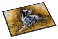 English Setter by Michael Herring Indoor or Outdoor Mat 24x36 - 24Hx36W