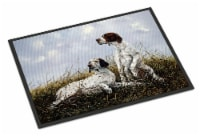 English Pointer by Michael Herring Indoor or Outdoor Mat 24x36 - 24Hx36W