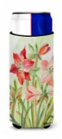 Lillies II by Maureen Bonfield Ultra Beverage Insulators for slim cans - Slim Can