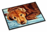 Golden Retriever by Tanya and Craig Amberson Indoor or Outdoor Mat 24x36 - 24Hx36W